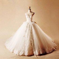 画像1: 王道 花嫁 ウエディングドレス ミカドサテン 高品質オーダー花嫁オーダーメイド挙式&披露宴衣装