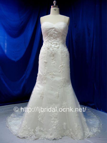 マーメイドウェディングドレス ...