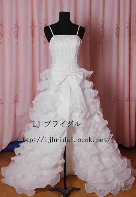 LJ高品質ウェディングドレス♪ ...