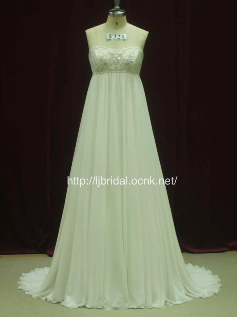 LJ高品質ウェディングドレス ...