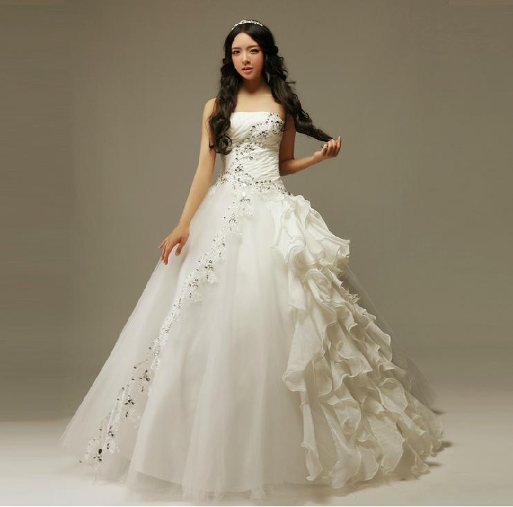 Lj綺麗ウェディングドレス花嫁二次会結婚挙式結婚マタニティ対応